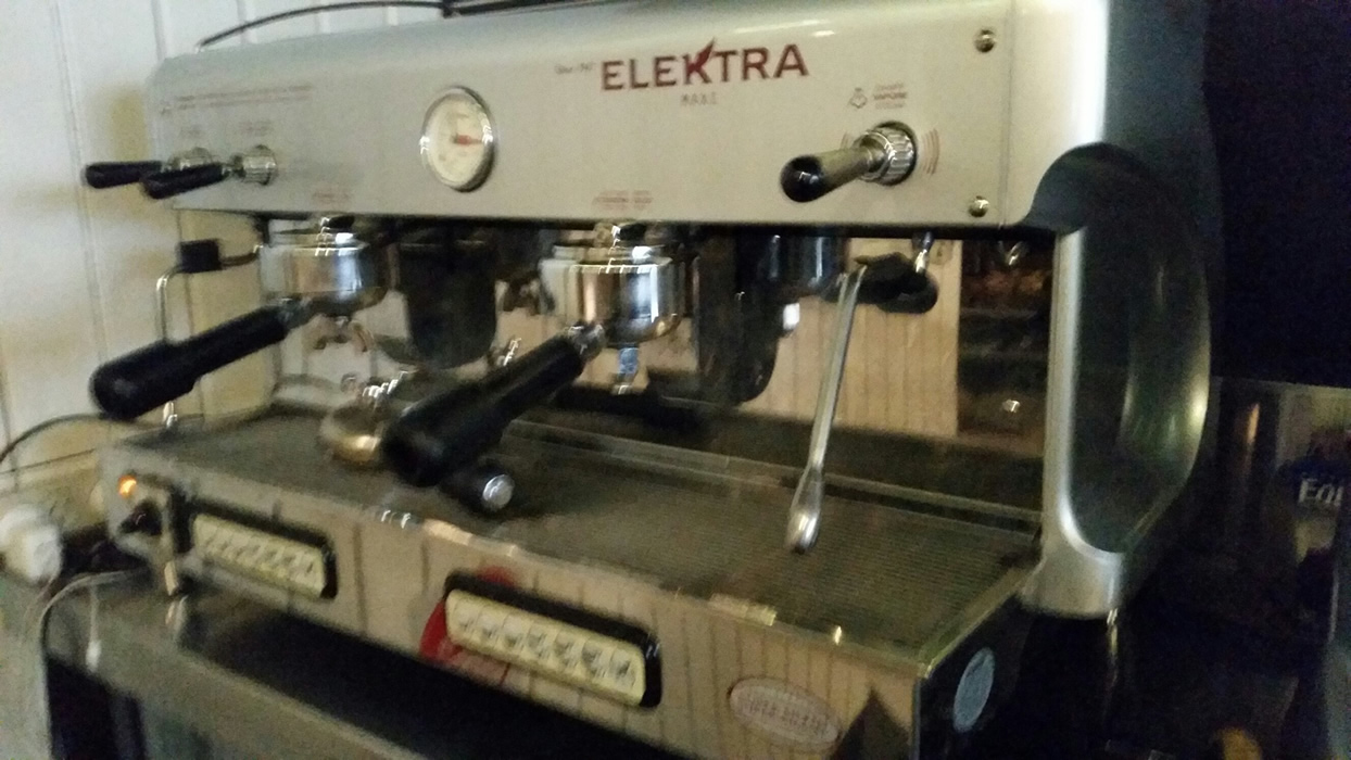 Elektra Coffee Machine 2 Group Gold Cup Espresso Services